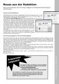 Neues aus der Redaktion - UP-Campus Magazin - Page 5