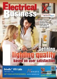 Defining - Electrical Business Magazine