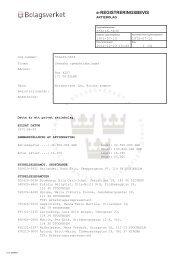 Registreringsbevis – Svenska rymdaktiebolaget - uppsagd