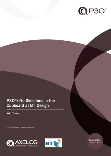 P3O®: No Skeletons in the Cupboard at BT Design - Best ...