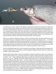 Opis testu woblerów jaziowo-kleniowych Robinson Dariusz Kujawski