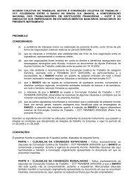 Acordo Aditivo BB 2005/2006 - Sindicato dos Bancários do Maranhão
