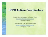 Role of HCPS Autism Coordinators.pptx