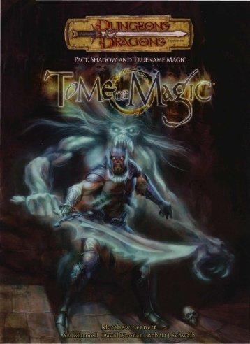 DnD - Tome of Magic