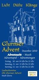 Glurnser Advent - 700 Jahre Stadt Glurns