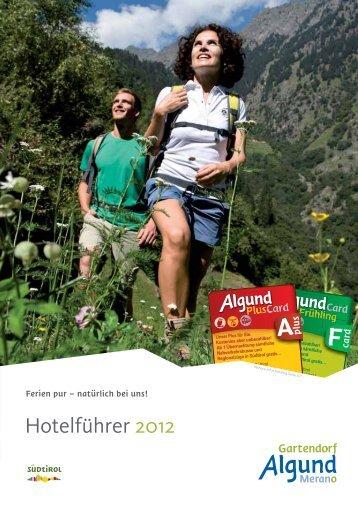 Hotelführer 2012 - Algund