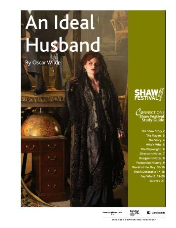 Ideal Husband.pub - Shaw Festival Theatre