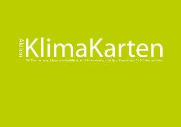 Aktion KlimaKarten - BildungsCent eV