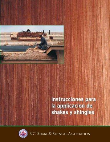BCSSA-Spanish.pdf - BC Shake & Shingle Association