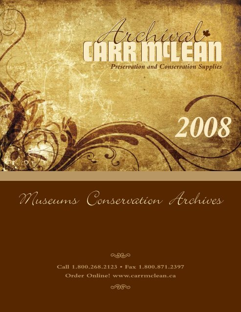 Museums Conservation Archives - CARR McLEAN