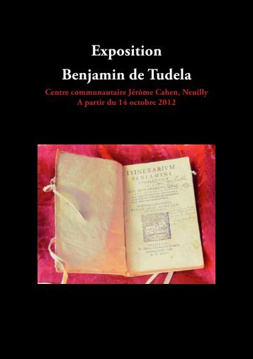 Exposition Benjamin de Tudela - Jewish Heritage
