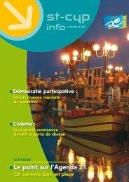 le point sur l'agenda 21 - Ville de Saint Cyprien