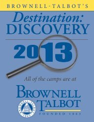 Destination:DISCOVERY 2013 PDF - Brownell-Talbot School