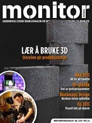 LÆr Å BrUKE 3D - Monitormagasin