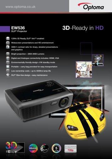 3D-Ready in HD