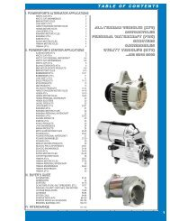 I. powersports alternator applications - Arrowhead Electrical ...