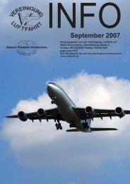 September 2007 - Vereinigung Luftfahrt eV