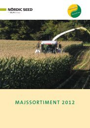 MAJSSORTIMENT 2012 - NSCORN