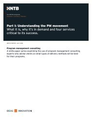 Part I: Understanding the PM movement What it is, why it's in ...