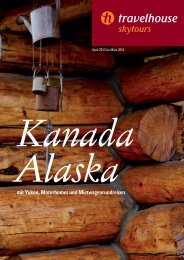mit Yukon, Motorhomes und Mietwagenrundreisen - Travelhouse