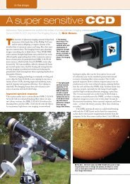 A Super Sensitive CCD - The Imaging Source Astronomy Cameras