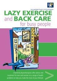 lazy exercise 2007 v2.indd