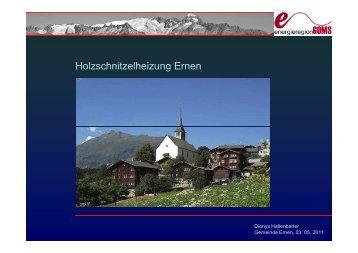 Präsentation - Ernen