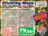 december 2009 - Stichting Maya