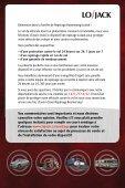 pochette de bienvenue pour les nouveaux clients - Lojack - Page 2