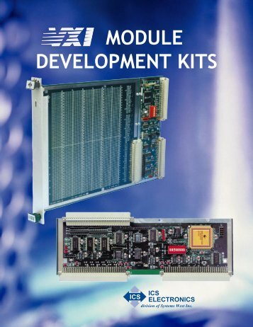 VXI Kit Mailer Blu - ICS Electronics