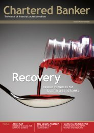 Rescue remedies for businesses and banks - Chartered Institute of ...