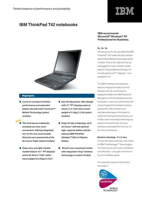 IBM THINKPAD T42 INTEL WIRELESS DRIVERS FOR WINDOWS 8