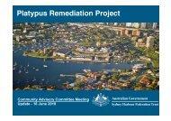 Presentation Slides - 16 June 2010 - Sydney Harbour Federation Trust