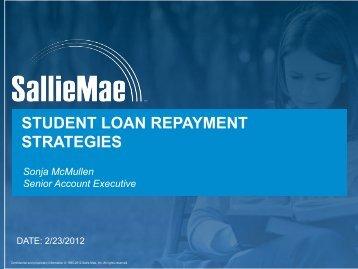 student loan repayment strategies - Vanderbilt School of Medicine