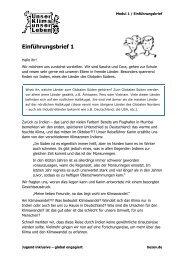 finden Sie ein Beispiel - Arbeitsblatt aus Modul 1 (pdf ... - bezev eV