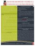 proceso de inscripción y matrícula estudiantes nuevos para pregrado - Page 2