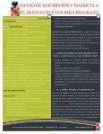 proceso de inscripción y matrícula estudiantes nuevos para pregrado - Page 4