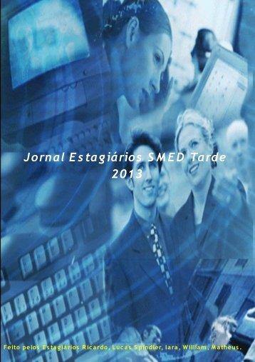 Jornal Estagiários SMED Tarde 2013 - Prefeitura Municipal de Porto ...