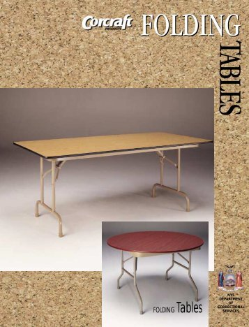 Folding Tables - Corcraft
