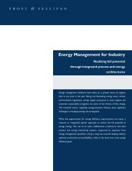 Energy Management for Industry White Paper - Schneider Electric