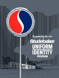 The Uniform Identity Guide for Dealers - Studebaker-info.org