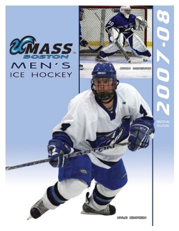 2007-08 Umass Boston Men's Ice Hockey Media ... - Baillieul Family