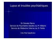 Lupus et troubles psychiatriques