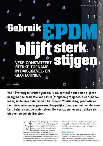 Gebruik - Verenigde EPDM Systeem Producten