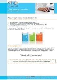 Téléchargez notre brochure d'information au format pdf - Visualis