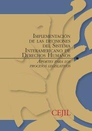 implementación de las decisiones del sistema interamericano de ...
