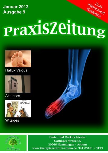 Hallux Valgus Therapiezentrum Arnum 9