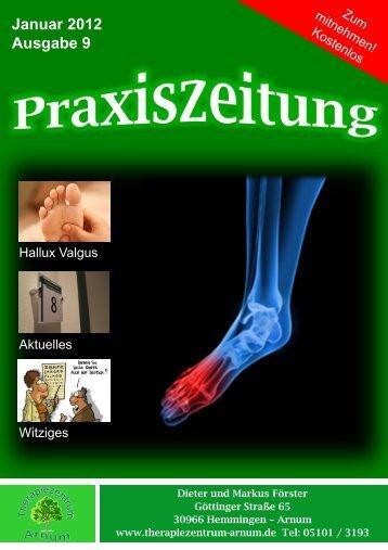 Hallux Valgus Therapiezentrum Arnum 9