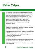 Hallux Valgus Therapiezentrum Arnum 9 - Seite 4