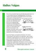 Hallux Valgus Therapiezentrum Arnum 9 - Seite 5